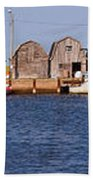 Malpeque Harbour Panorama Beach Towel
