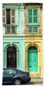 Maltase Style Doors And Windows  Beach Towel
