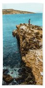 Maltese Dream Beach Towel