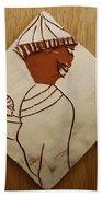 Mama 9 - Tile Beach Towel