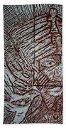 Mama Africa 2 - Plaque Beach Towel