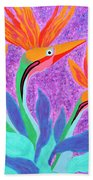 Mama And Her Chicks By Ken Tesoriere Beach Towel