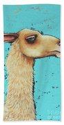 Mama Llama Beach Towel