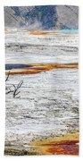 Mammoth Hot Springs Beach Sheet