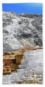 Mammoth Hot Springs3 Beach Towel
