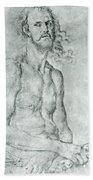 Man Of Sorrow 1522 Beach Towel