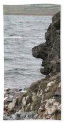 Man Of The Stone Beach Towel