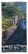 Manarola  0565 Beach Towel