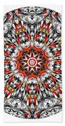 Mandala - Amulet 873 For Those Born In ..... Beach Towel