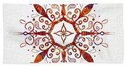Mandala Art 2 Beach Sheet