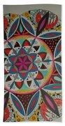 Mandala Art Beach Towel