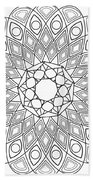 Mandala No 2 Beach Towel
