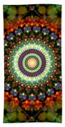 Mandala Of Loves Journey Beach Sheet