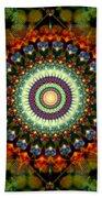 Mandala Of Loves Journey Beach Sheet