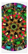 Mandala - Talisman 1104 - Order Your Talisman. Beach Towel