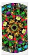 Mandala - Talisman 1108 - Order Your Talisman. Beach Towel