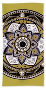 Diva Mandala Beach Towel