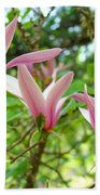 Mangolia Tree Flowers Art Prints Pink Magnolias Baslee Troutman Beach Towel