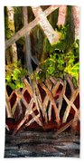 Mangrove At Gumbo Limbo Beach Towel