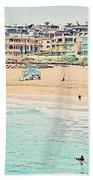 Manhattan Beach - Los Angeles, California Beach Towel