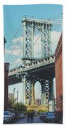Manhattan Bridge Beach Sheet