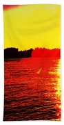 Manhattan Sunrise  Beach Towel