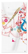Mania Abstract Beach Towel