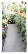Manito Park Conservatory Beach Towel