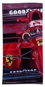 Mansell Ferrari 641 Beach Towel