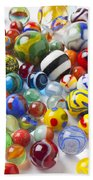 Many Beautiful Marbles Beach Towel by Garry Gay