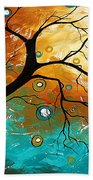 Many Moons Ago By Madart Beach Towel