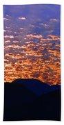 Manzanillo Sunset 3 Beach Towel
