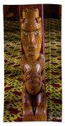 Maori Greeter Beach Towel