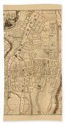 Map Of Cork 1771 Beach Towel