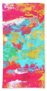 Map Of The Inconstant Heart Beach Towel