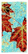 Maple Mania 13 Beach Towel