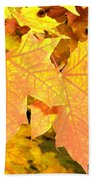 Maple Mania 2 Beach Towel