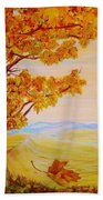 Maple One Fifty Beach Towel