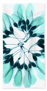 Maple Seeds X-ray Beach Towel