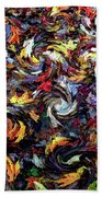 Maples In The Wind Beach Towel
