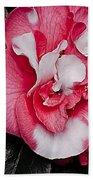 Marble Camellia Beach Towel