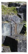 Marble Quarry  Beach Towel