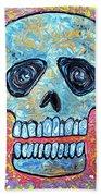 Marble Skull  Beach Sheet