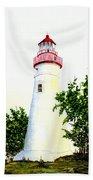 Marblehead Lighthouse Beach Towel