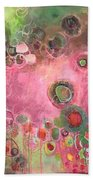 March Of The Spoonbills Beach Towel