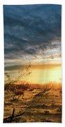 March Sunrise Beach Towel by Lynn Geoffroy