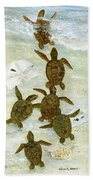 March To The Sea Beach Towel