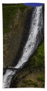 March Waterfall Beach Towel