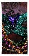 Mardi Gras Feminine Mystique Beach Towel
