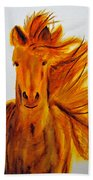 Mare In Motion Beach Towel